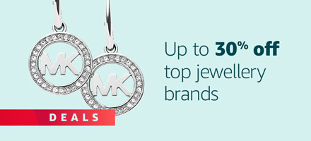 Up to 30% off top jewellery brands