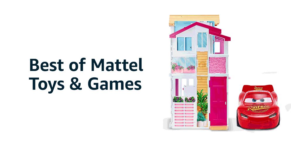 Best of Mattel Toys & Games