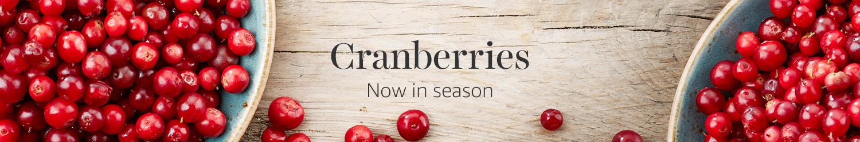 Cranberries now in season