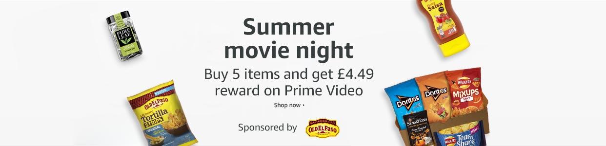 Movie night promotion