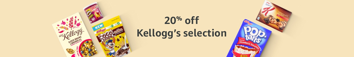 20% off Kellogg's selection