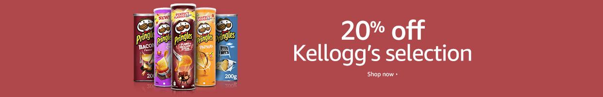 20% off Kellogg's selection