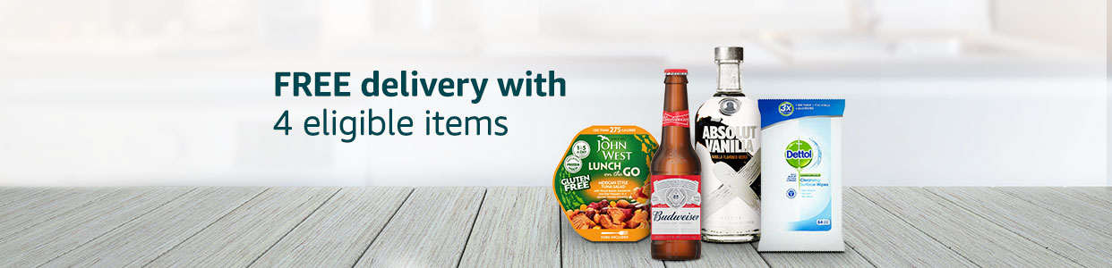 Free standard delivery with 4 eligible items