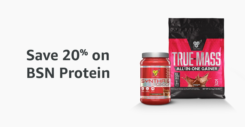 20% off BSN protein