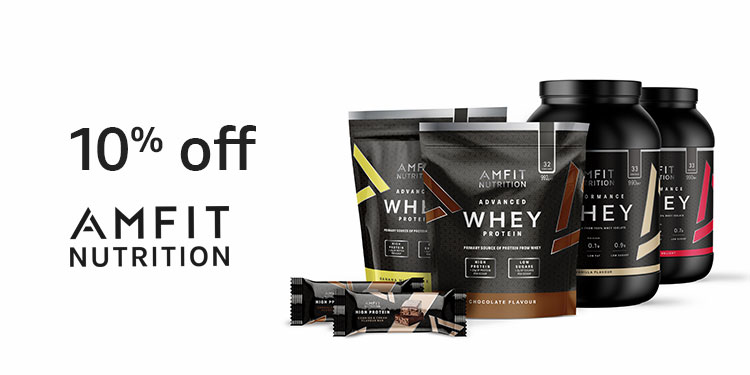10% off selected Amfit Nutrition