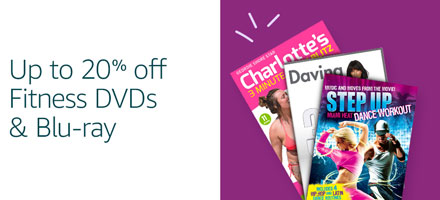 20% off fitness DVDs