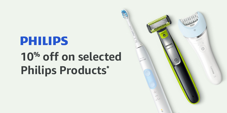 10% off selected Philips products