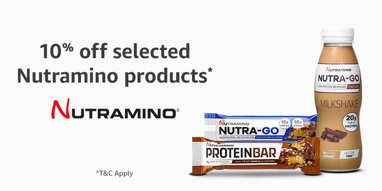 10% off Nutramino products