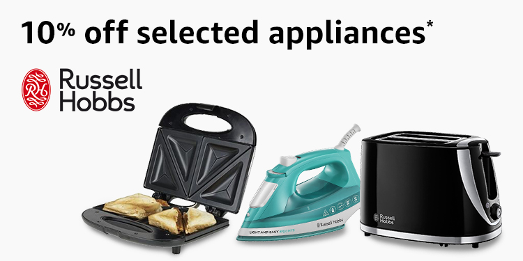 10% off Russell Hobbs appliances