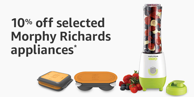 10% off selected Morphy Richards appliances