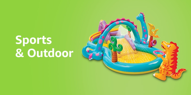 Outdoor and sports toys