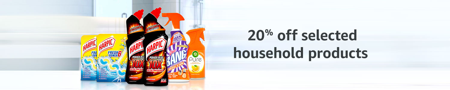 20% off household products