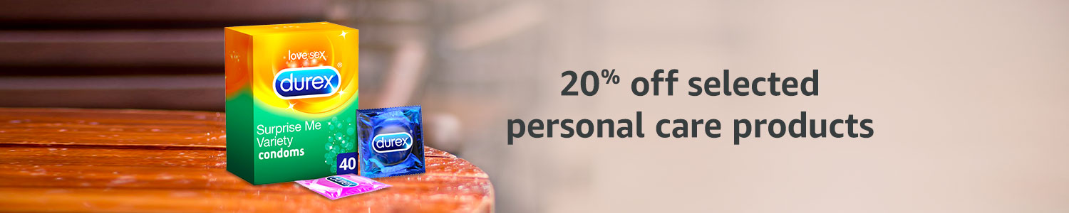 20% off personal care products
