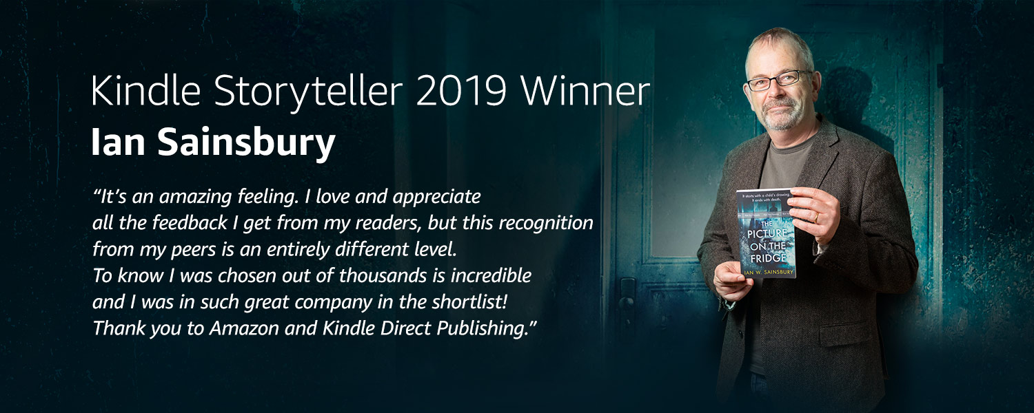 Ian Sainsbury, Kindle Storyteller 2019 Winner
