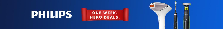 Philips. One Week. Hero Deals