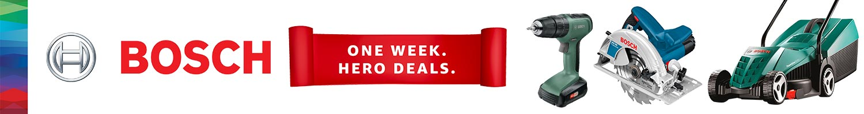 Bosch One Week Hero Deals