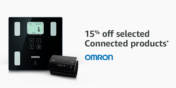 15% off selected Omron connected products