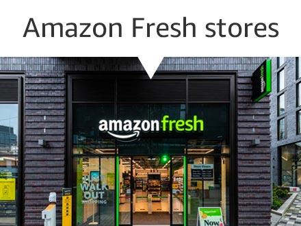 Amazon Fresh stores