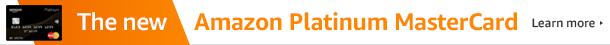 The new Amazon Platinum MasterCard