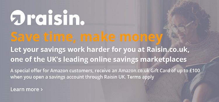 Raisin UK Saving Marketplace