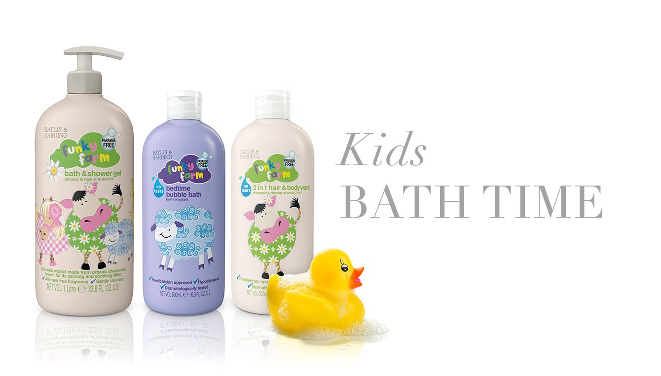 Kids BATH TIME