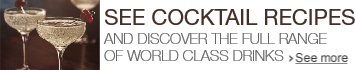 Make the cocktails and discover the full World Class range