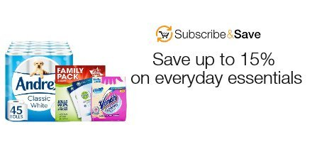 Save up to 15% with Subscribe and Save