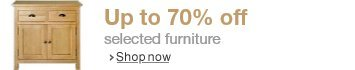 70% off selected furniture