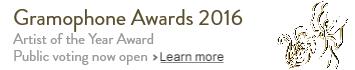 Gramophone artist vote award