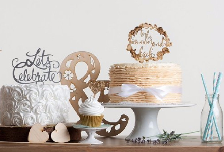 Handmade Stationery & Party Supplies: shop cake toppers, cards and more.