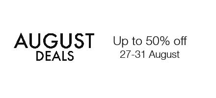 Shop August deals