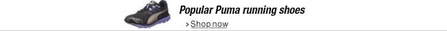 Popular Puma running shoes