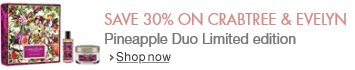 Save 30% on Crabtree & Evelyn Pineapple Duo Limited edition
