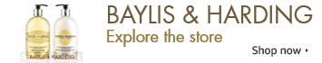 Discover the Baylis and Harding brand store