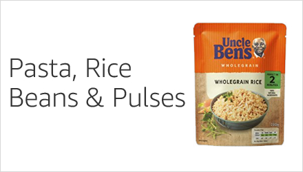 Rice, Pasta, Beans & Pulses