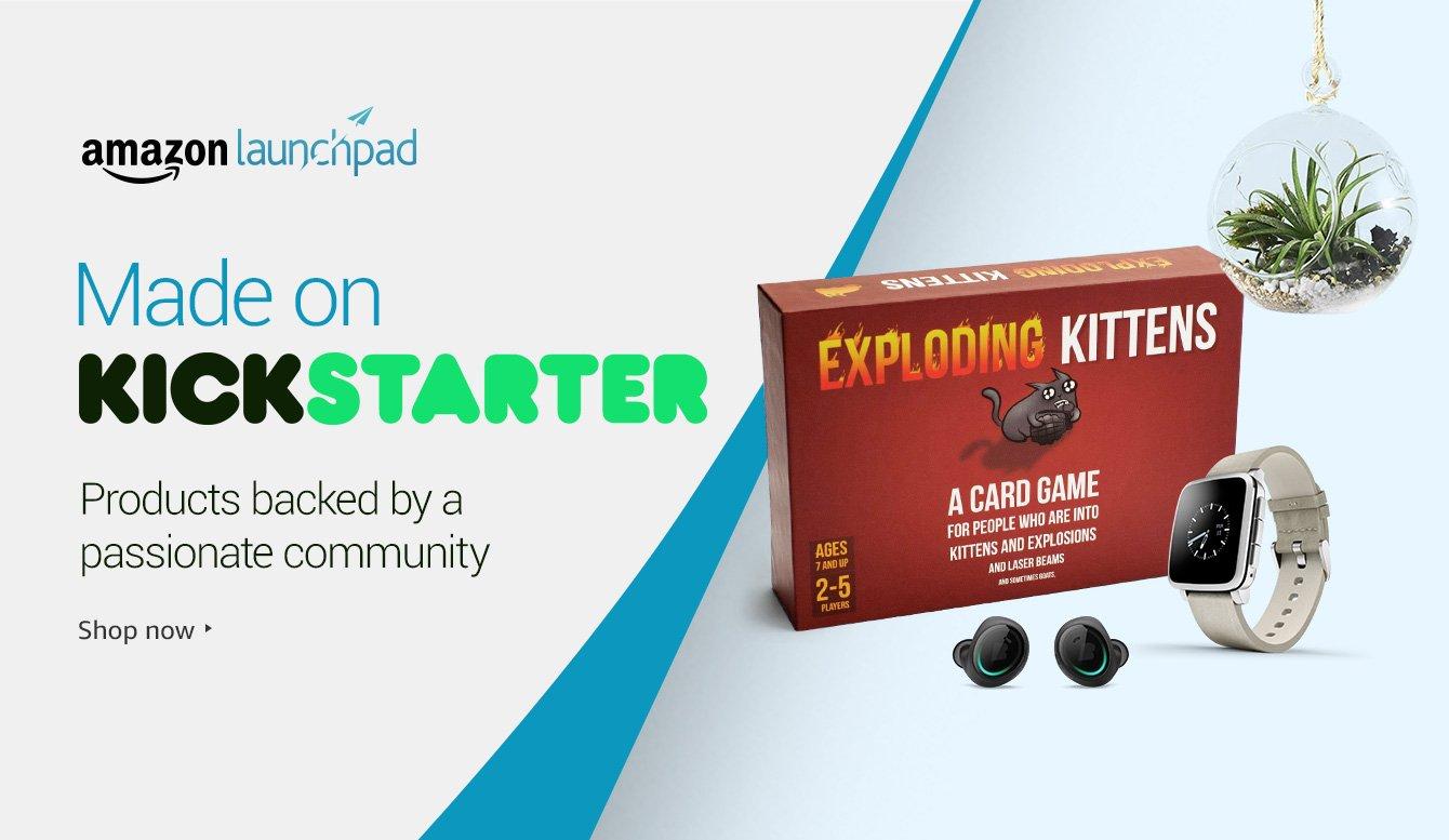 Amazon Launchpad: Kickstarter Collection