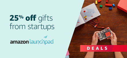 Amazon Launchpad Deals from Startups