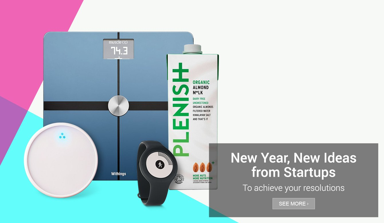 Amazon Launchpad: New Year New Ideas from Startups