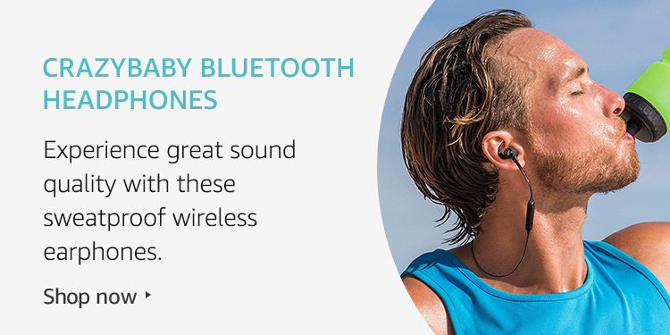 Amazon Launchpad: Crazybaby Bluetooth Headphones