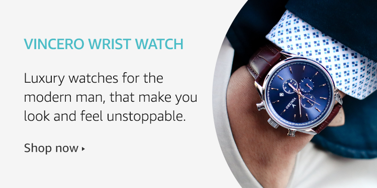 Amazon Launchpad: Vincero Wrist Watch