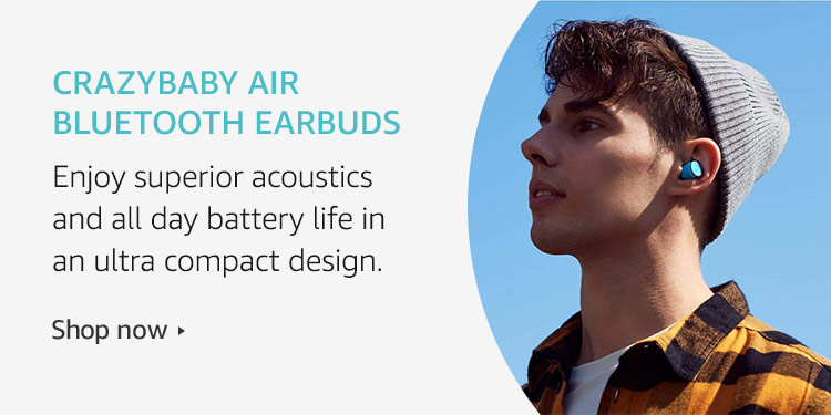 Amazon Launchpad: crazybaby Air bluetooth earbuds