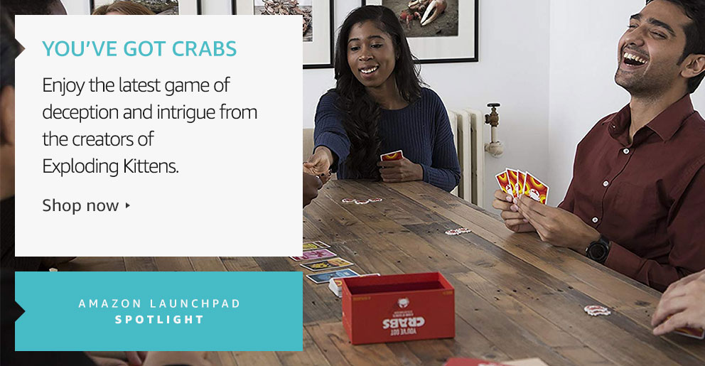 Amazon Launchpad: You've Got Crabs