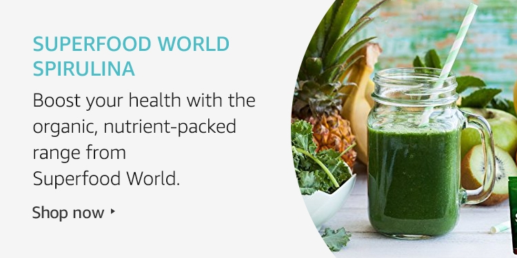 Amazon Launchpad: Superfood World Spirulina