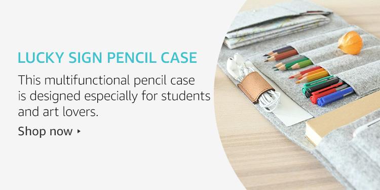 Lucky Sign Pencil Case