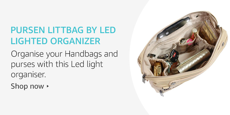 Pursen Littbag by Led Lighted Organizer