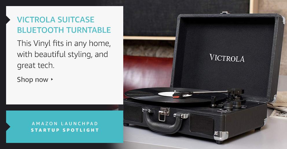Victrola Suitcase Bluetooth Turntable