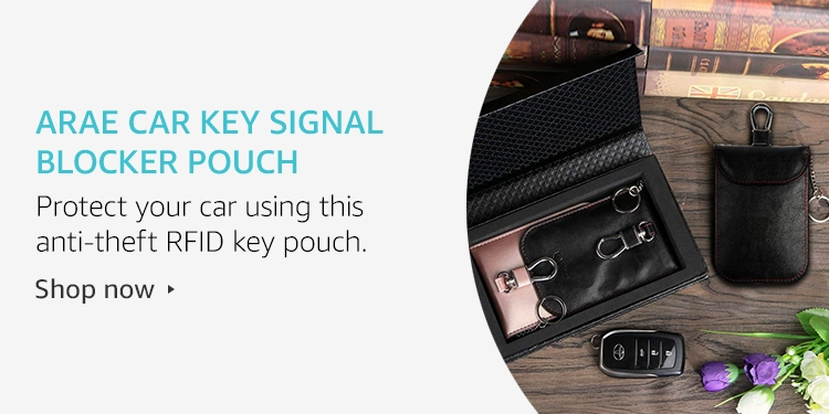 Arae Car Key Signal Blocker Pouch