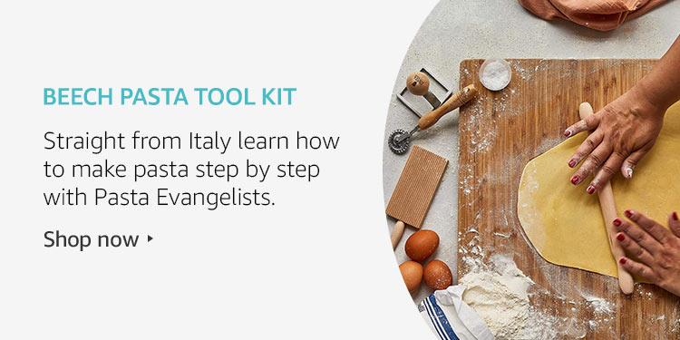 Beech pasta tool kit