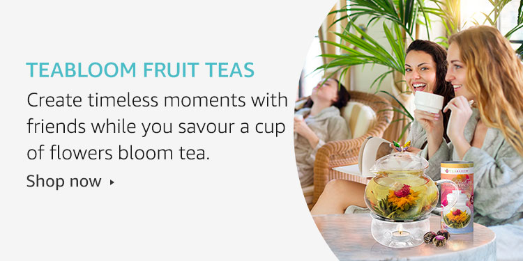 Teabloom fruit teas