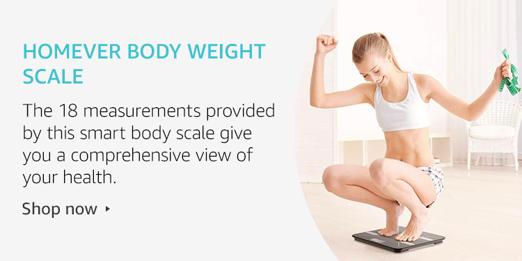 Homever body weight scale